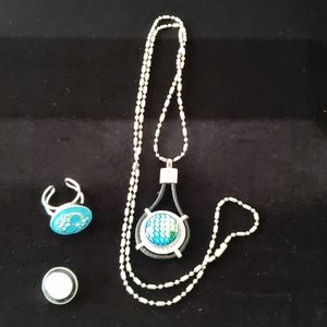 Jewelry - Snap Jewelry Bundle - Ring, Necklace and Charms